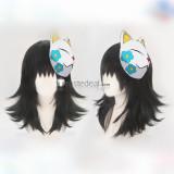 Kimetsu no Yaiba Demon Slayer Makomo Gyoumei Himejima Sanemi Shinazugawa Cosplay Wigs