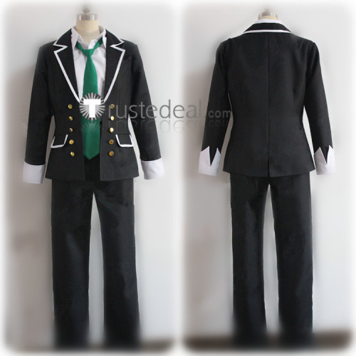 Shugo Chara Kukai Souma Black School Acdemy Uniform Cosplay Costume
