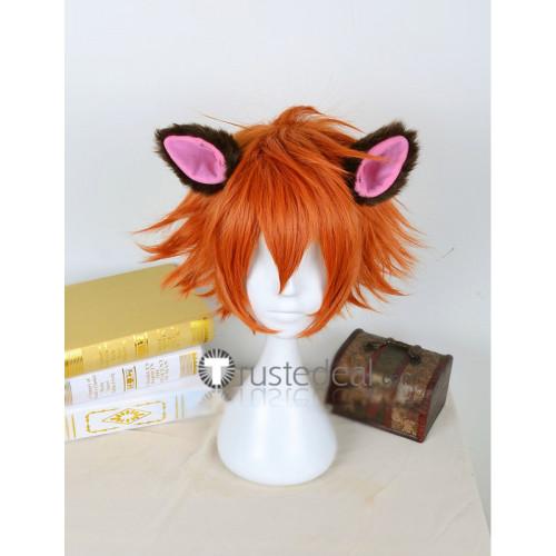 Zootopia Nick Wilde Red Fox Short Orange Cosplay Wig 2