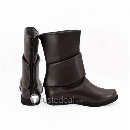 Re Creators Meteora Ousterreich Brown Cosplay Boots