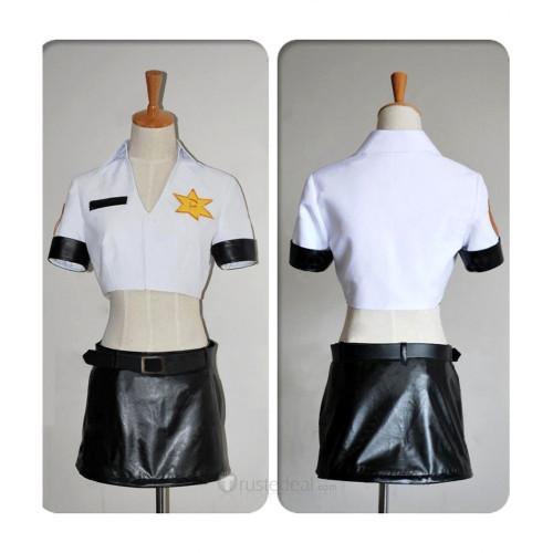 Panty & Stocking with Garterbelt  Panty Policeman Uniform Cosplay Costume 3