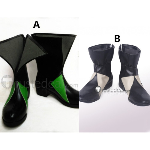 The Seven Deadly Sins Meliodas Black Cosplay Boots Shoes