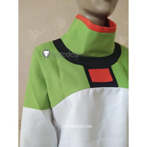 Voltron Legendary Defender Pidge Gunderson Green Coat Cosplay Costume2