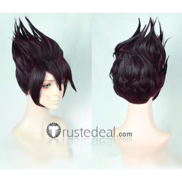 Danganronpa V3 Killing Harmony Kaito Momota Purple Cosplay Wigs