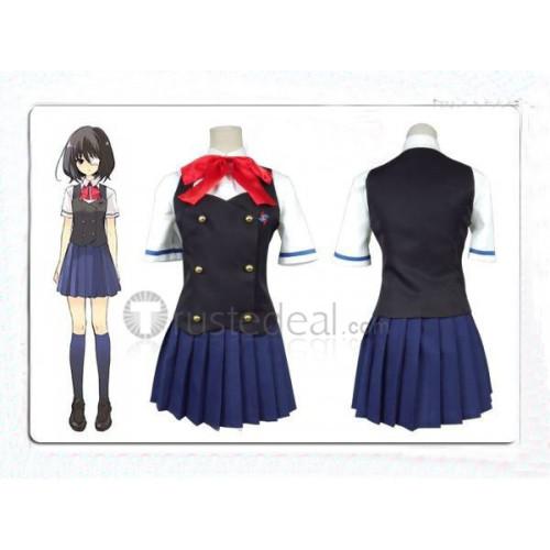 Another Misaki Mei Girls Summer School Uniform Cosplay Costume