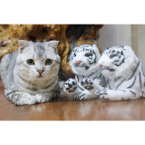 Touken Ranbu Gokotai Tiger Cosplay Plush Props