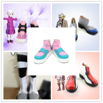 Pokemon Sword and Shield Bede Piers Gordie Kabu Cosplay Shoes Boots