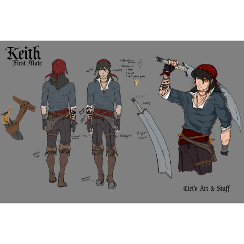 Voltron Keith and Lance Pirate Cosplay Costumes