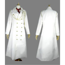 Blue Exorcist Arthur Auguste Angel White Cosplay Costume