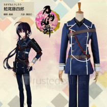 Touken Ranbu Namazuo Toushirou Army Uniform Cosplay Costume 2