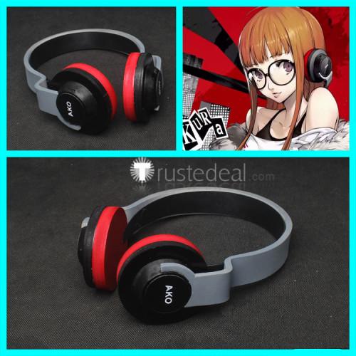 Persona5 Futaba Sakura Headphone Cosplay Props Accessories