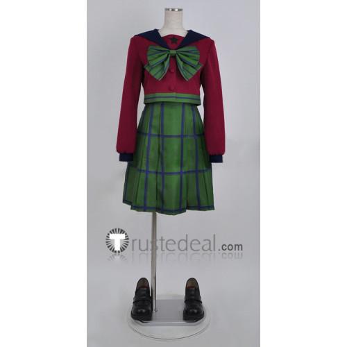 Sailor Moon Michiru Kaioh Hotaru Tomoe Winter Girls School Uniform Cosplay Costume