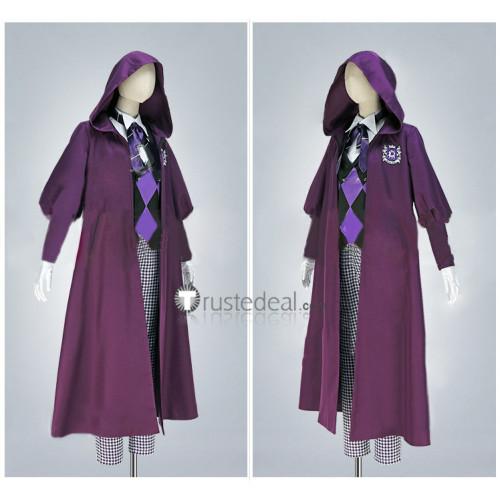 Black Butler Kuroshitsuji Public School Arc Gregory Violet Cosplay Costume