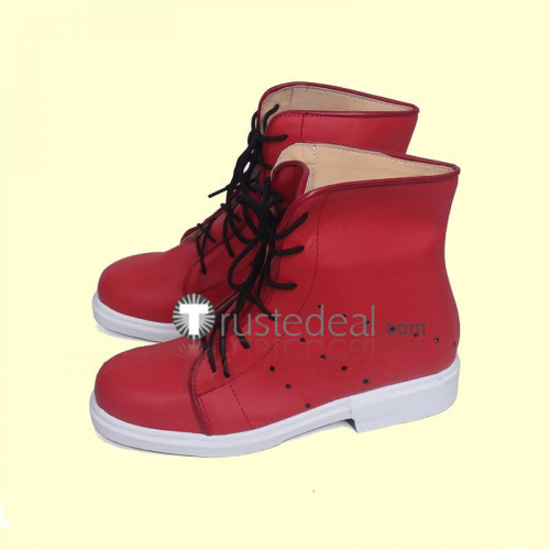 Persona 5 Dancing in Starlight Protagonist Ren Amamiya Phantom Red Cosplay Shoes Boots