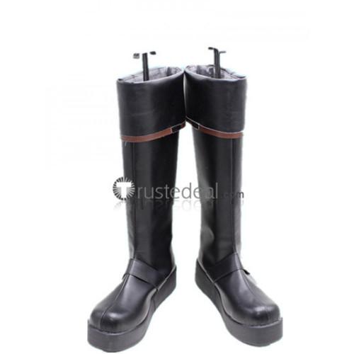D.Gray-man Kanda Yuu Cosplay Boots Shoes