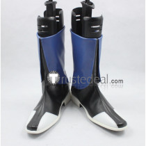 Mobile Suit Gundam Seed Orb Union Black Blue Cosplay Shoes Boots