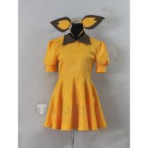 Pokemon Pichu Gijinka Yellow Suit Cosplay Costume