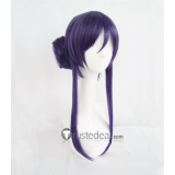 Love Live Seven Lucky Gods Nozomi Tojo Gray Purple Cosplay Wig