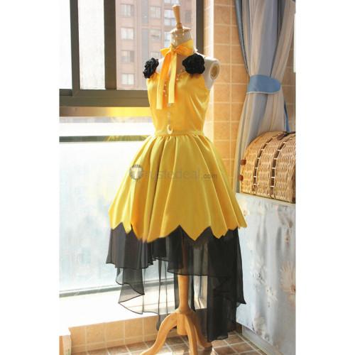 Sailor Moon Luna Yellow Cosplay Costume