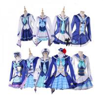 Love Live Aqours OP2 Mirai no Bokura wa Shitteru Yo Ruby Dia Mari Kanan Chika You Cosplay Costume