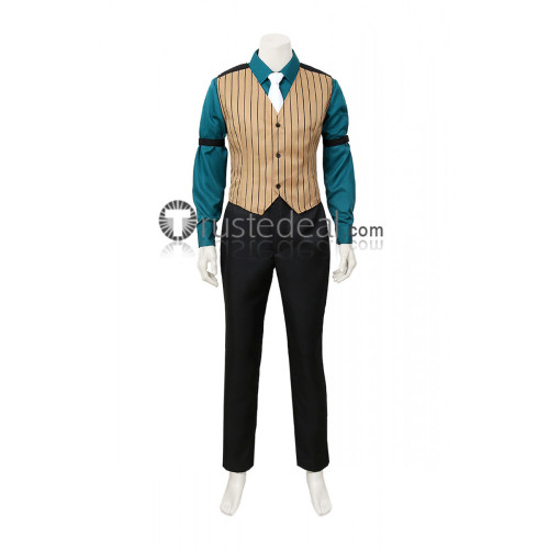 Phoenix Wright Ace Attorney Godot Souryuu Kaminogi Cosplay Costume