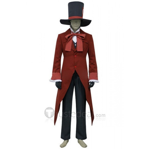 Ouran High School Host Club Mad Hatter Tamaki Suoh Cosplay Costume