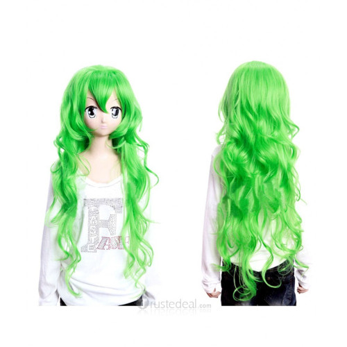 Panty & Stocking with Garterbelt Scanty Green Cosplay Wig