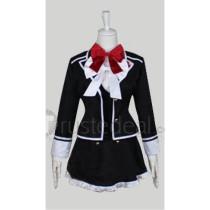 Diabolik Lovers Komori Yui School Academy Cosplay Costume Uniform Version