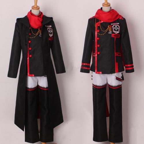 D.Gray-man Hallow Lavi 3rd Uniform Cosplay Costume