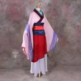 Disney Princess Mulan Cosplay Costume2