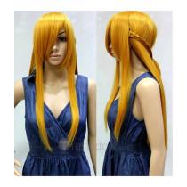 Sword Art Online Asuna Long Blonde Cosplay Wig 100cm