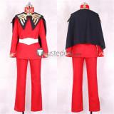 Mobile Suit Gundam Char Aznable Red Black Uniform Cosplay Costume