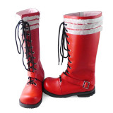 Blue Exorcist Rin Okumura Red Cosplay Boots Shoes 2