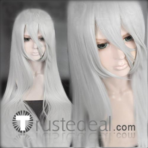 Nier Automata A2 Silver White Cosplay Wig