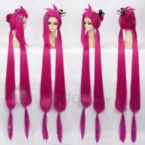 League of Legends Slayer Jinx Pink Cosplay Wig