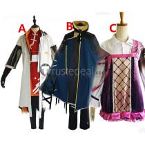 Arknights Aak Hellagur Shamare Cosplay Costumes
