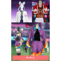 Pokemon Sword and Shield Klara Kabu Avery Cosplay Costumes