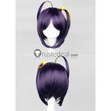 Chunibyo Rikka Takanashi Purple Black Cosplay Wig