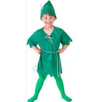 Disney Peter Pan Green Cosplay Costume2