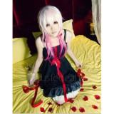 Guilty Crown YUZURIHA INORI Black White Dress Cosplay Costumes