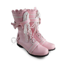 Sweet Pink Bows Boots