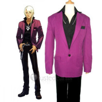Phoenix Wright Ace Attorney Klavier Gavin Cosplay Costume2