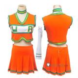 Boku no Hero Academia Uraraka Tsuyu Mina Momo Cheerleaders Uniform Cosplay Costume