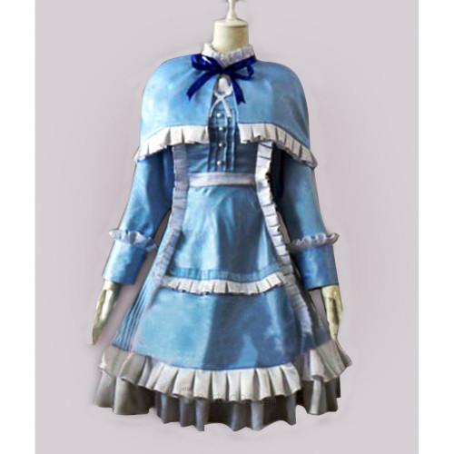 Another Misaki Mei Blue Cosplay Dress