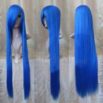 Darkstalkers Felicia Long Blue Cosplay Wig