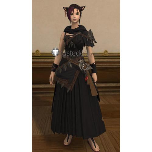 Final Fantasy XIV 14 Female Miqo'te Cosplay Costume