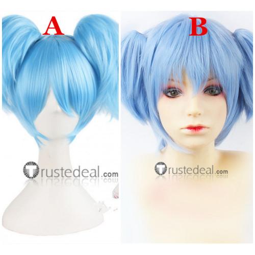 Assassination Classroom Shiota Nagisa Blue Poytails Cosplay Wigs