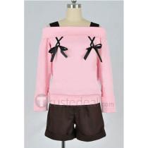 Diabolik Lovers Komori Yui Daily Pink Cosplay Costume