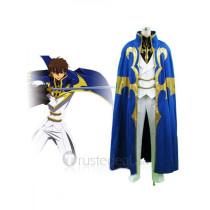 Code Geass Suzaku Kururugi Knight of Seven Cosplay Costume