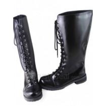 Betrayal Knows My Name Toko Murasame Black Cosplay Boots